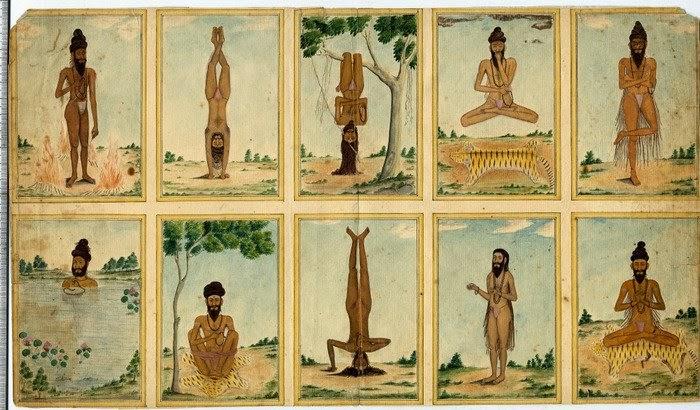 Краткая история йоги